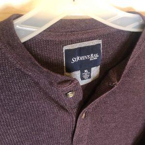 St. John's Bay Men's Long Sleeve Thermal Shirt